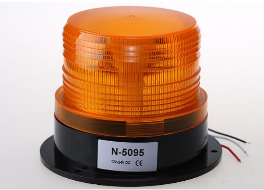 High intensity DC12V/24V led car warning round beacon,emergency lights for police,ambulance,fire,school bus,machine,waterproof(China (Mainland))