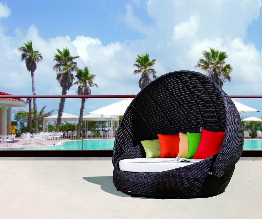 2015 Patio furniture And Outdoor furniture sun Daybe for high rollers(China (Mainland))