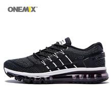Onemix new men running shoes unique shoe tongue design breathable sport shoes male athletic outdoor sneakers zapatos de hombre(China (Mainland))