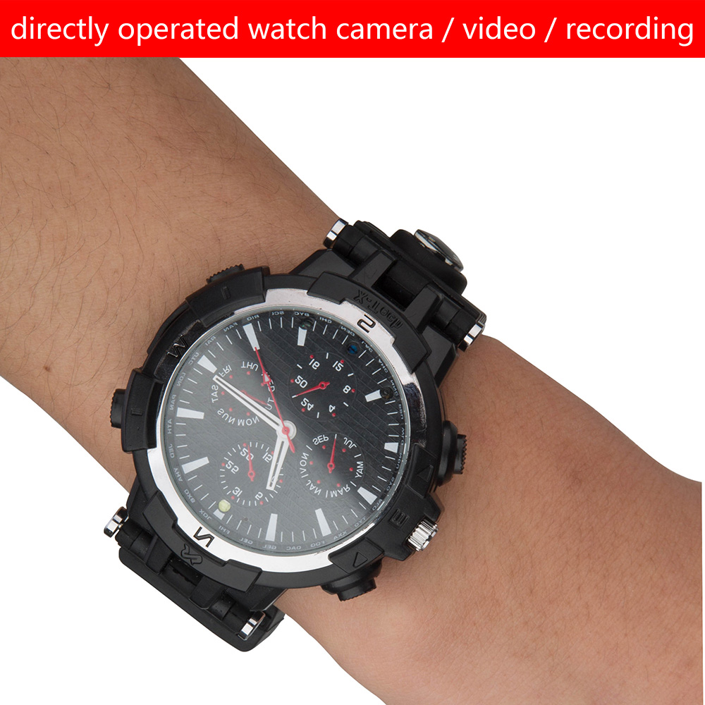 2017 Classic Camera Smart Watch with Wireless wifi Camera Video Recording wifi cctv camera smart watch(China (Mainland))