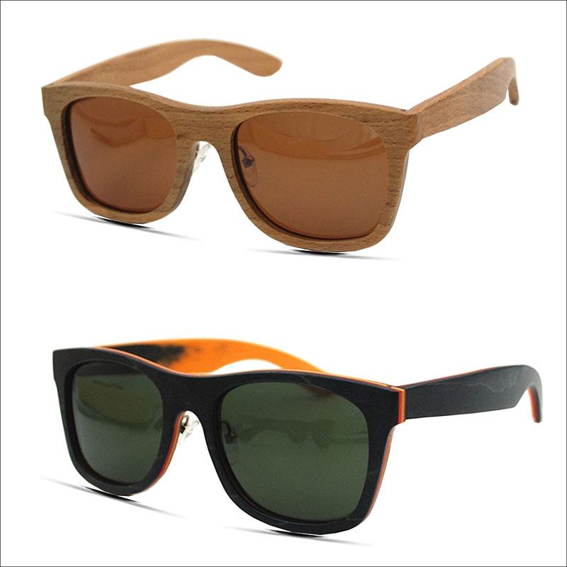 Best Wood Frame Glasses : Aliexpress.com : Buy Stripped Wood Polarized Glasses Mens ...