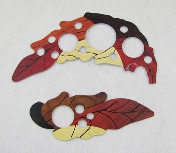 Two Leaf Shell Acoustic Guitar Pickguard