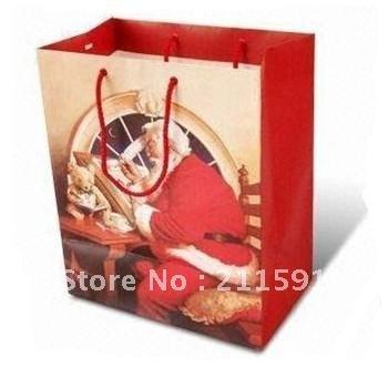 Christmas Gift Paper Bags Printing