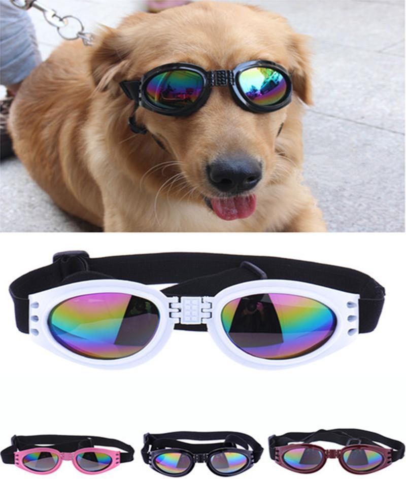 Hot Fashion Pet Dog Sunglasses Dog Eye Wear Dog Protection Goggles UV Sunglasses Drop Shipping(China (Mainland))
