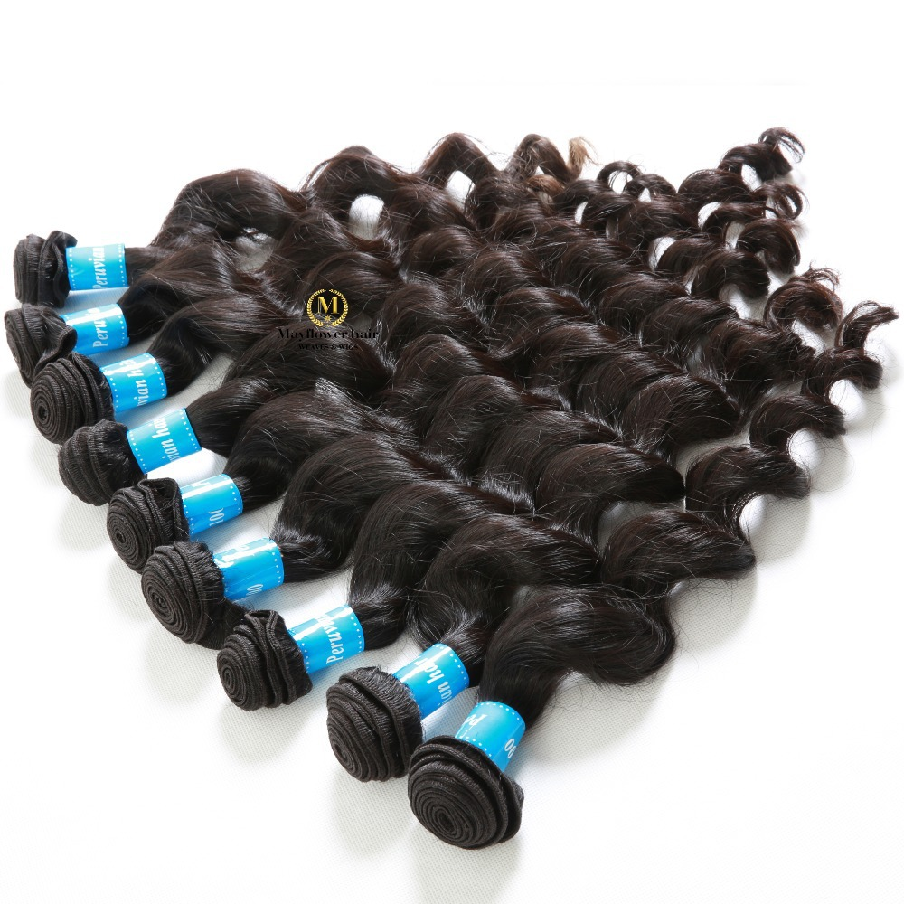 Top quality 10 bundles virgin hair peruvian loose wave full cuticle intact no tangle peru hair wholesale free shipping<br><br>Aliexpress
