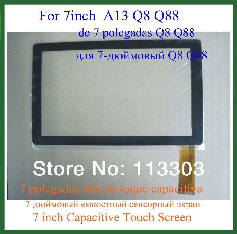 57 inch Capacitive Touch Screen Digitizer Panel Replacementr Tablet PC 7 Allwinner A13 Q8 Q88 - Doldol (HK store Co., Ltd)