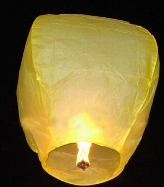 10pcs Hot Sale Multicolors Paper SKY LANTERNS Flying Paper Sky Lanterns(China (Mainland))