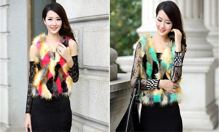 Женская одежда из меха HPC  00301