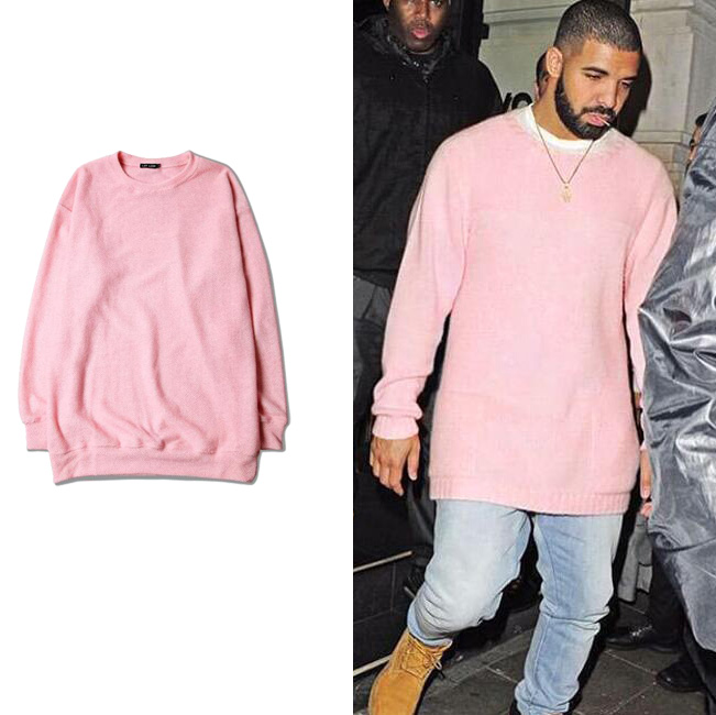 Mens Pink Sweatshirt Photo Album - Reikian