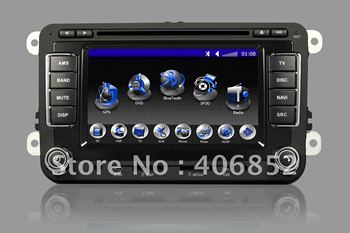 Special car dvd for VW with Gps/bluetooth/two way can-bus/Radio