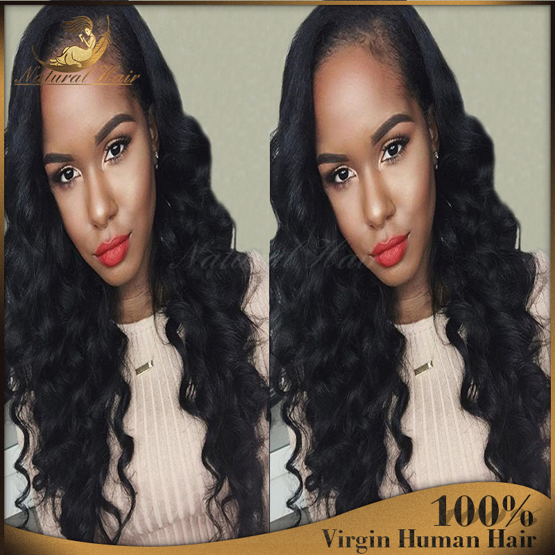 Hot Full Lace Human Hair Wigs For Black Women Peruvian Virgin Hair Glueless Full Lace Wigs Body Wave Lace Front Human Hair Wigs