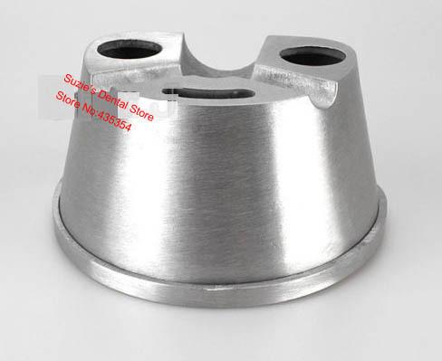 2 pcs New DENTAL Lab Equipment Aluminum Duplicating Flasks Dental Denture(China (Mainland))