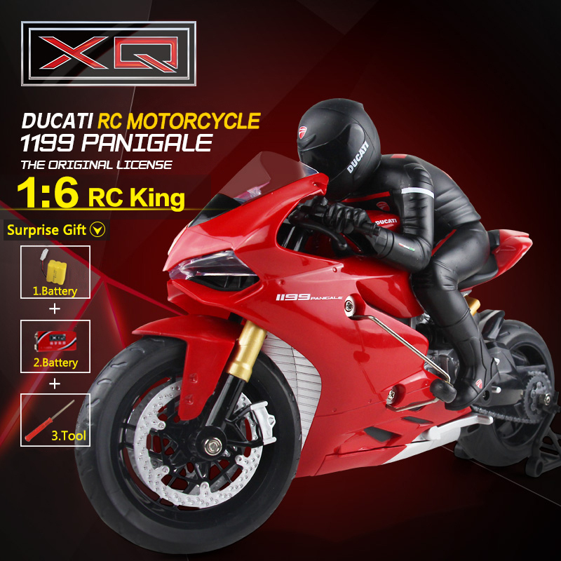 XQ 1:6 Scale 4CH 2.4G RC Motorcycle Boys Electric Toys CVT Radio Control Stunt Drift Motorcycles(China (Mainland))
