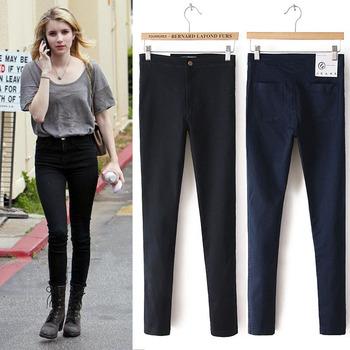 Джинсы для женщины джинсы женщина Cal деним узкие завышенная талия джинсы женщин ...