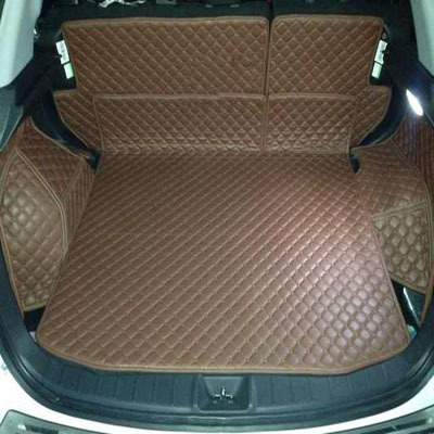 XPE enviromental material car Trunk mats for Mitsubishi ASX after the whole surrounded by warehouses(China (Mainland))