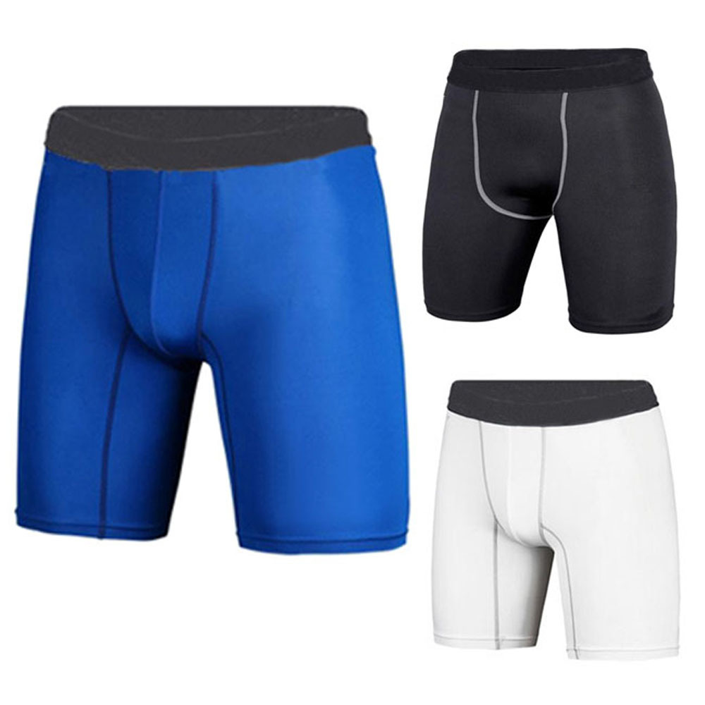 Fashion New Men's Underwear Sport Compression Wear Under BaseLayer Boxer Shorts Pant Athletic Tight Leggings(China (Mainland))