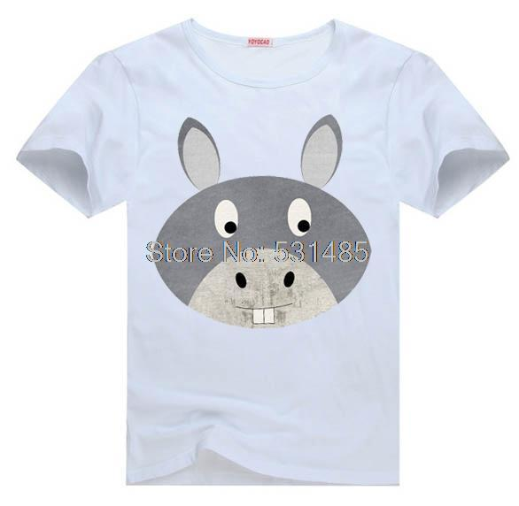 Donkey Farm Toddler Down on the Farm Tee t shirt for kid Boy Girl clothing top clothes cartoon tshirt Dress(China (Mainland))