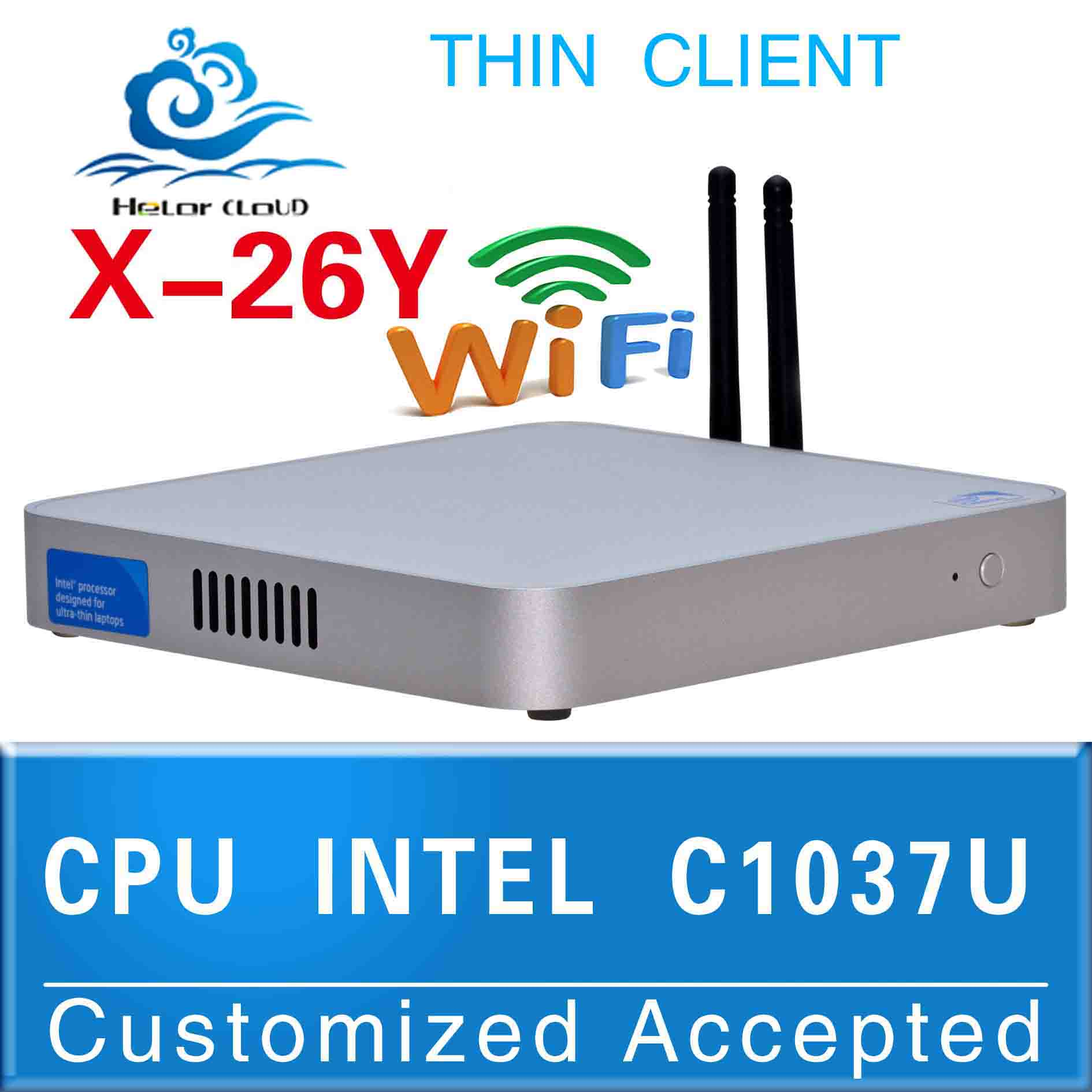 Freeship Mini itx fanless pc Media server Windows 7 pc Celeron 1037U Celeron Dual-core 1.8GHz windows 8 Support full(China (Mainland))