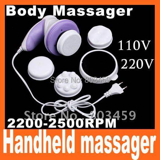 Mini Body Massager Handheld Tone Massager 110V and 220V Can Choose(China (Mainland))
