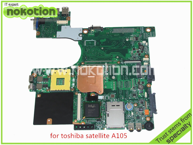 For toshiba satellite A100 A105 Motherboard INTEL 945GM DDR2 without graphics slot SPS V000068770 V000069110(China (Mainland))