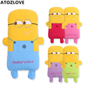 baby pillows buckwheat cartoon minions decor doll cotton bedding toddler bed accessory neck protection sofa sleeper