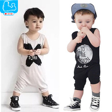 Summer Baby Romper Cotton Baby Boy Clothes Baby Kids Jumpsuit NO SLEEP Baby Clothing Harem Style Pants Roupas Bebes Boy Clothes
