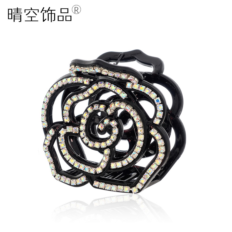 Accessories cutout rose Medium gripper hair maker hair accessory hairpin hair pin hair accessory d638(China (Mainland))