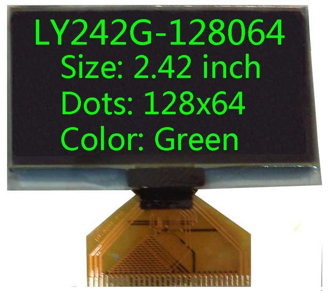 2.42 inch 128x64 oled screen oled display oled