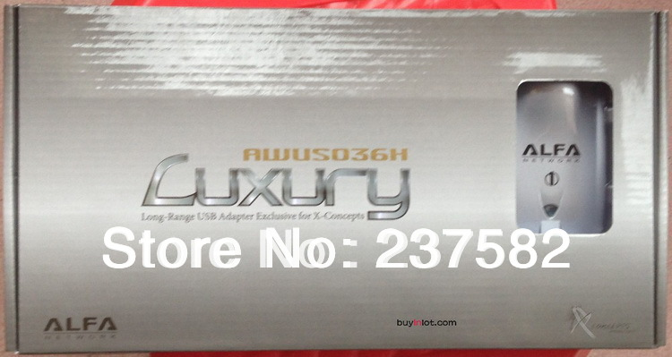 Free shipping High power ALFA AWUS036H 1000mw wifi usb adapter 8db&2dbi antenna Ralink 3070 Chipset(China (Mainland))