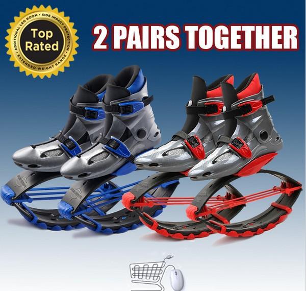 Livraison gratuite 2 paires Kangoo Jumps remise en forme chaussures unisexe chaussures de rebond Sports de plein air Sports de plein air chaussures Skyrunner(China (Mainland))