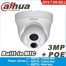 Dahua IPC-HDW4300C Built-in MIC IR HD 1080p IP Camera 3MP Full  Network security cctv Dome DH-IPC-HDW4300C(China (Mainland))