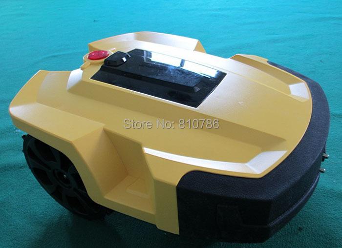 Robot Grass Mower ,Garden Tool Robot ,Average walking speed: 0.3-0.5 M/s ,Lawn remain height: 3-6cm ,Mowing width: 24cm(China (Mainland))