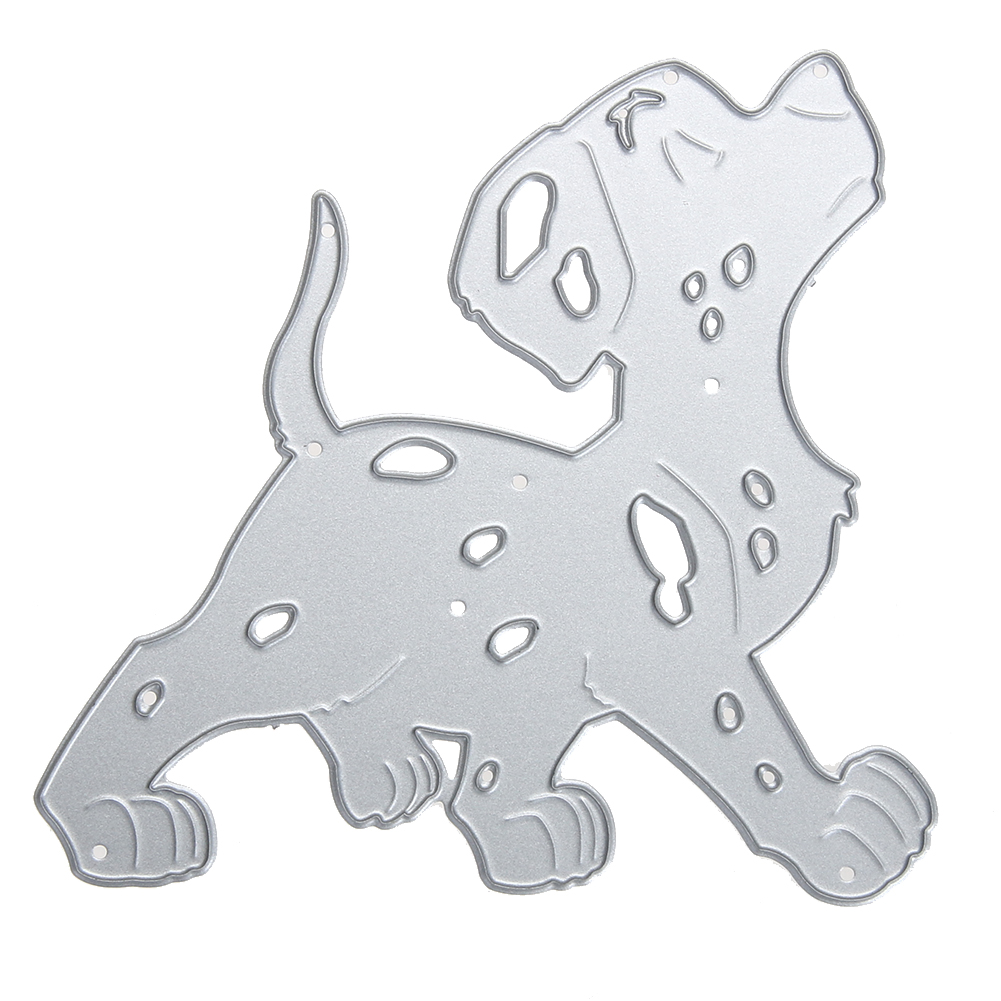 Metal Cutting Dies Stencils Cute Cartoon Dog DIY Scrapbooking Decorative Embossing Paper Cards Craft Dies Scrapbooking Cut Dies