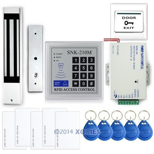 DIY Full RIFD Access Control Entry Door System Security For Your Life Brand NEW(China (Mainland))