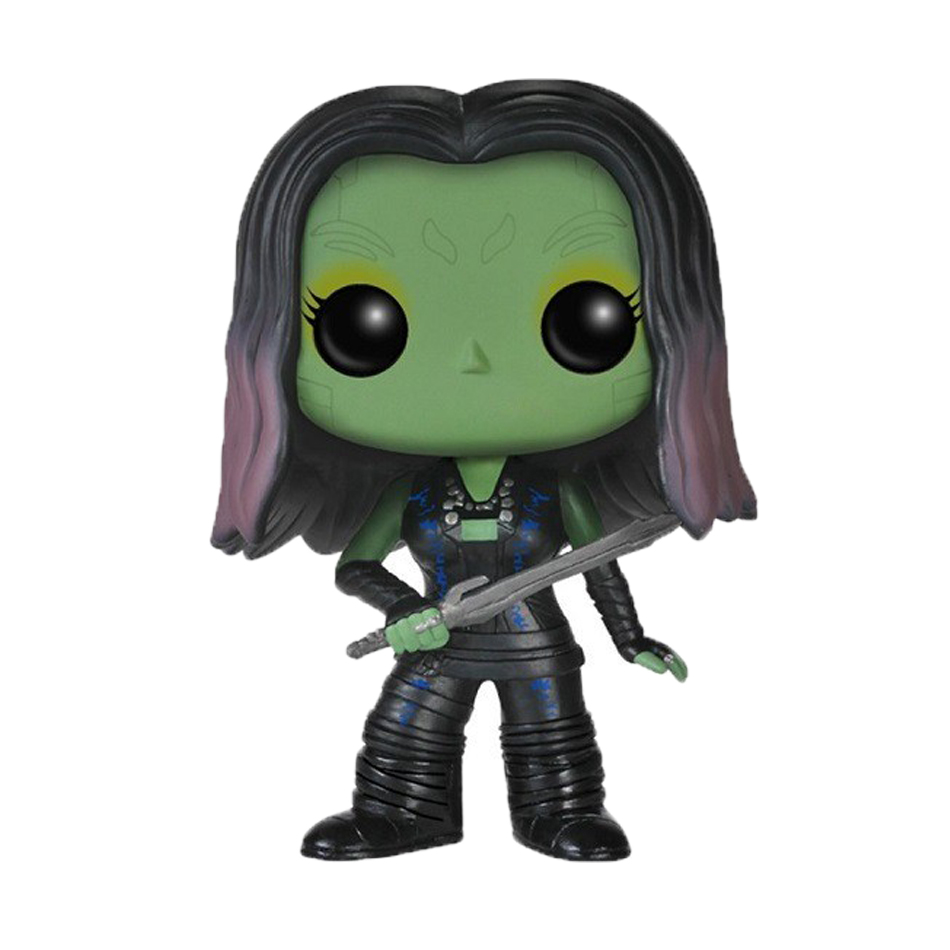 Funko Pop Figure 10cm 1pcs Marvel Guardians of the Galaxy Gamora  PVC Cute Action Figure Collection Kids Gifts Toys  1125<br><br>Aliexpress