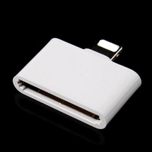 Mobile Phone Adapter Converter Charger Adapter 30 pin female to 8 pin male adapter for Apple iphone 4 to 5 5G 5S 6 6s 6plus(China (Mainland))