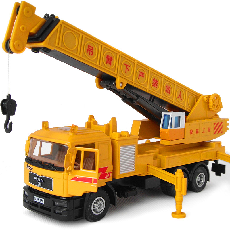 2015 hot Large cranes crane model alloy engineering car toy car truck model 2199(China (Mainland))