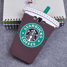 3D Cartoon Starbuck Coffee Cup Soft Silicone Back Cover Case Samsung Galaxy A3 A5 A7 J1 J3 J5 J7 Grand Prime S7 S6 Edge S5 - Good Friend store