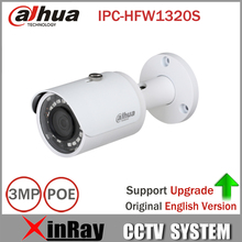 Buy DaHua IPC-HFW1320S 3MP Mini Bullet IP Camera Day/ Night infrared CCTV Camera POE Support IP67 Waterproof Security Camera System for $60.00 in AliExpress store