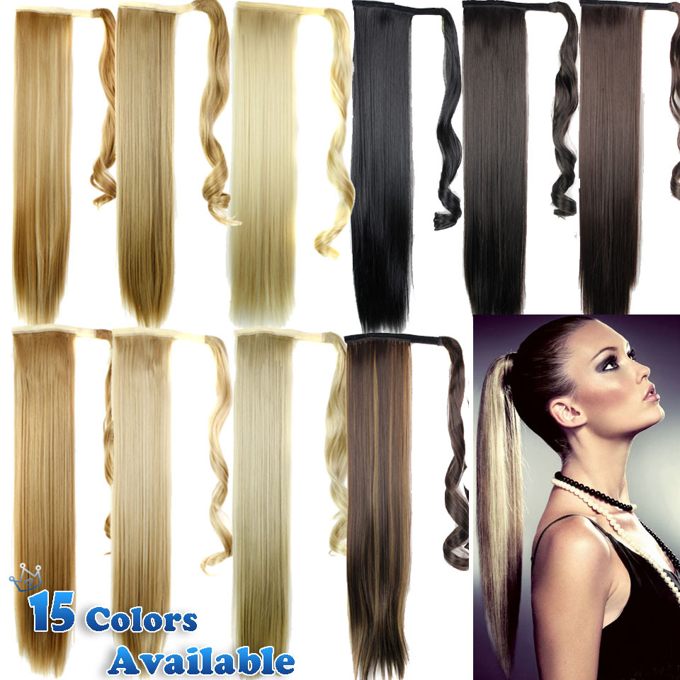 Hairpieces Clip On Ponytails 91