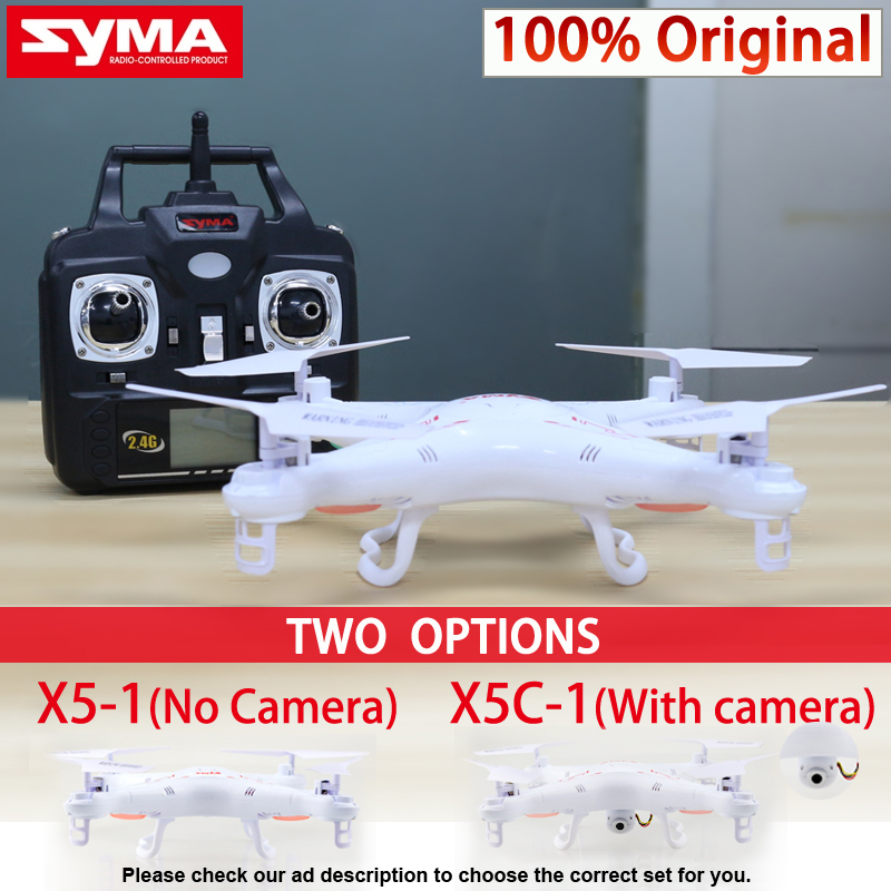 Syma X5C-1 Quadcopter Drone With Camera X5C or X5 rc helicopter without camera(China (Mainland))