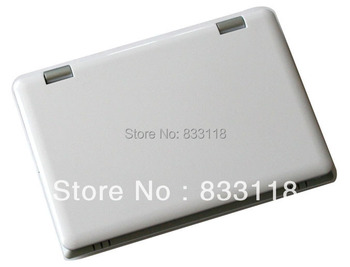 New 10 inch mini Laptop windows Android 4.1 Netbook 512M/4G VIA8850 dual core wifi camera android notebook computer