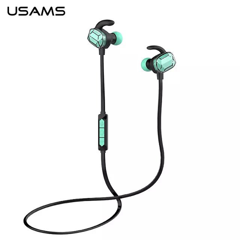 usams bg bluetooth earphone sports headset with mic  u0026 remote control for iphone samsung htc lg