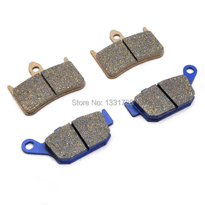 Brand New Motorcycle Honda NT400 89-94 Front+Rear Brake Pads - Handsome Accessories store