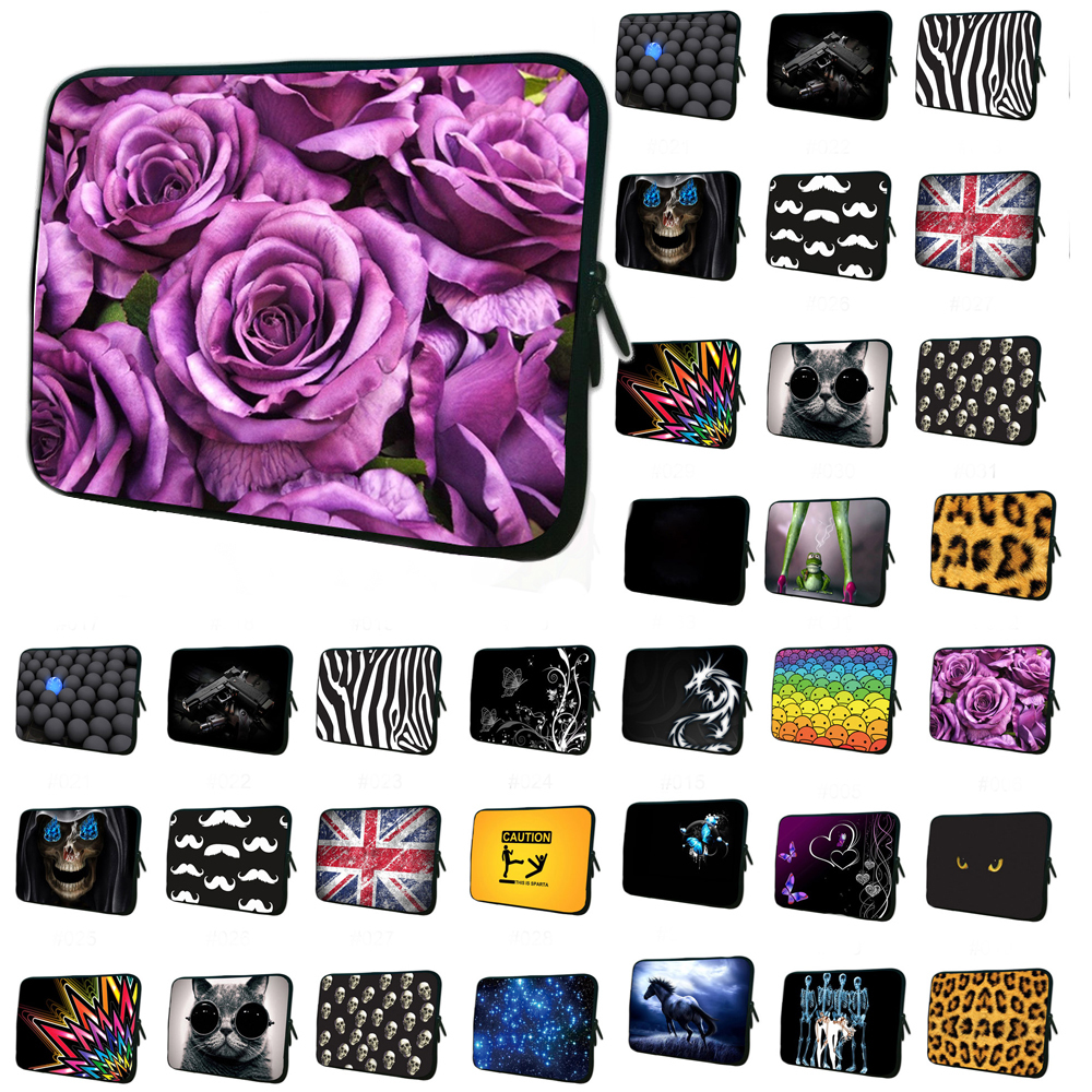 Romantic Neoprene Soft Laptop Sleeve Bag Cases Cover Pouch Protector For 7 7.7 7.9 8.1 inch Tablet Netbook Ebook Computer PC(China (Mainland))