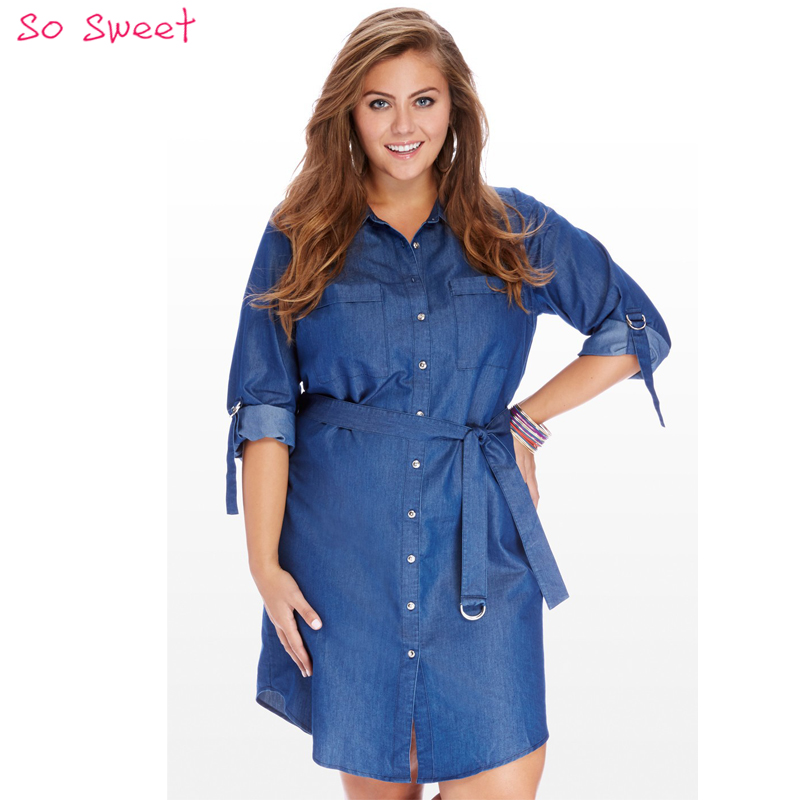 Womens Plus Size Casual Dresses 85