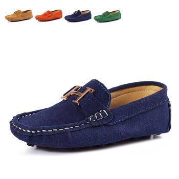 Новая коллекция весна осень лето мода детская обувь, детские мальчики замша gommini мокасины свободного покроя мягкая подошва мокасины кроссовки