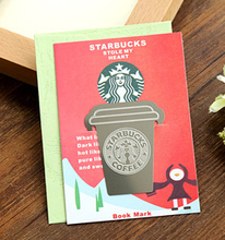 Multy function coffee cup design bookmarks ,Ruler ,Template,reading bookmarks sale, products for 2014(tt-1232-711)(China (Mainland))