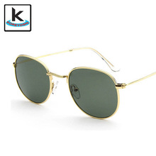Новый бренд дизайнер круглые очки женщины G15 объектива очки летний стиль очки óculos de sol Q094