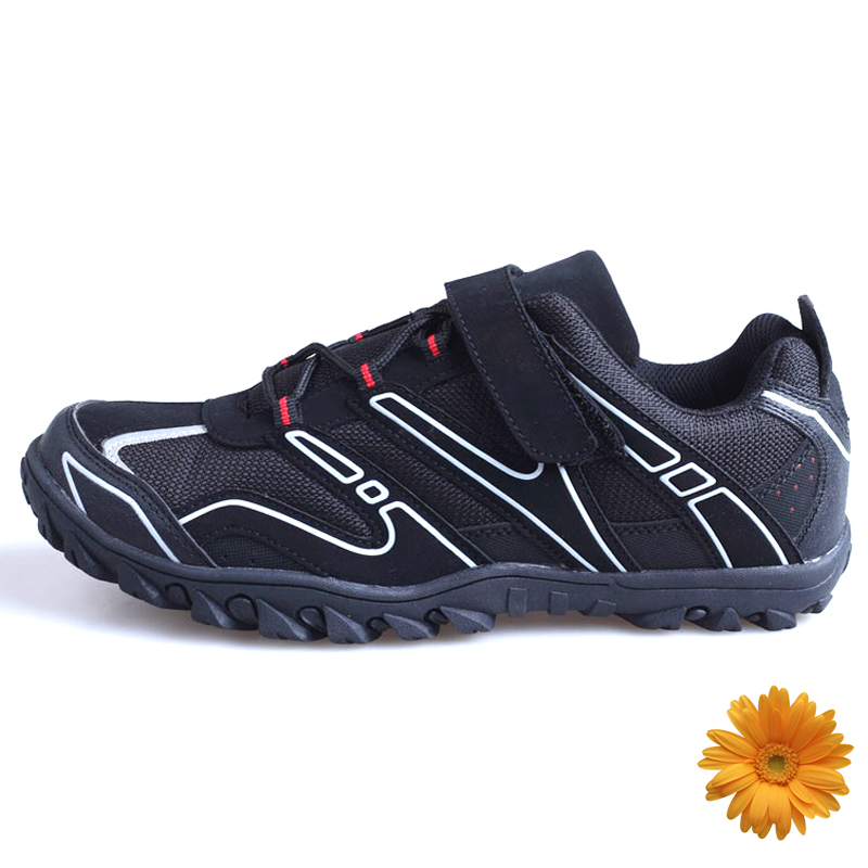 Free Shipping 2016 New Bicycle Racing Sports Road Cycling Shoes Breathable Athletic MTB Road Bike Auto-lock Shoes Trekking Shoes(China (Mainland))